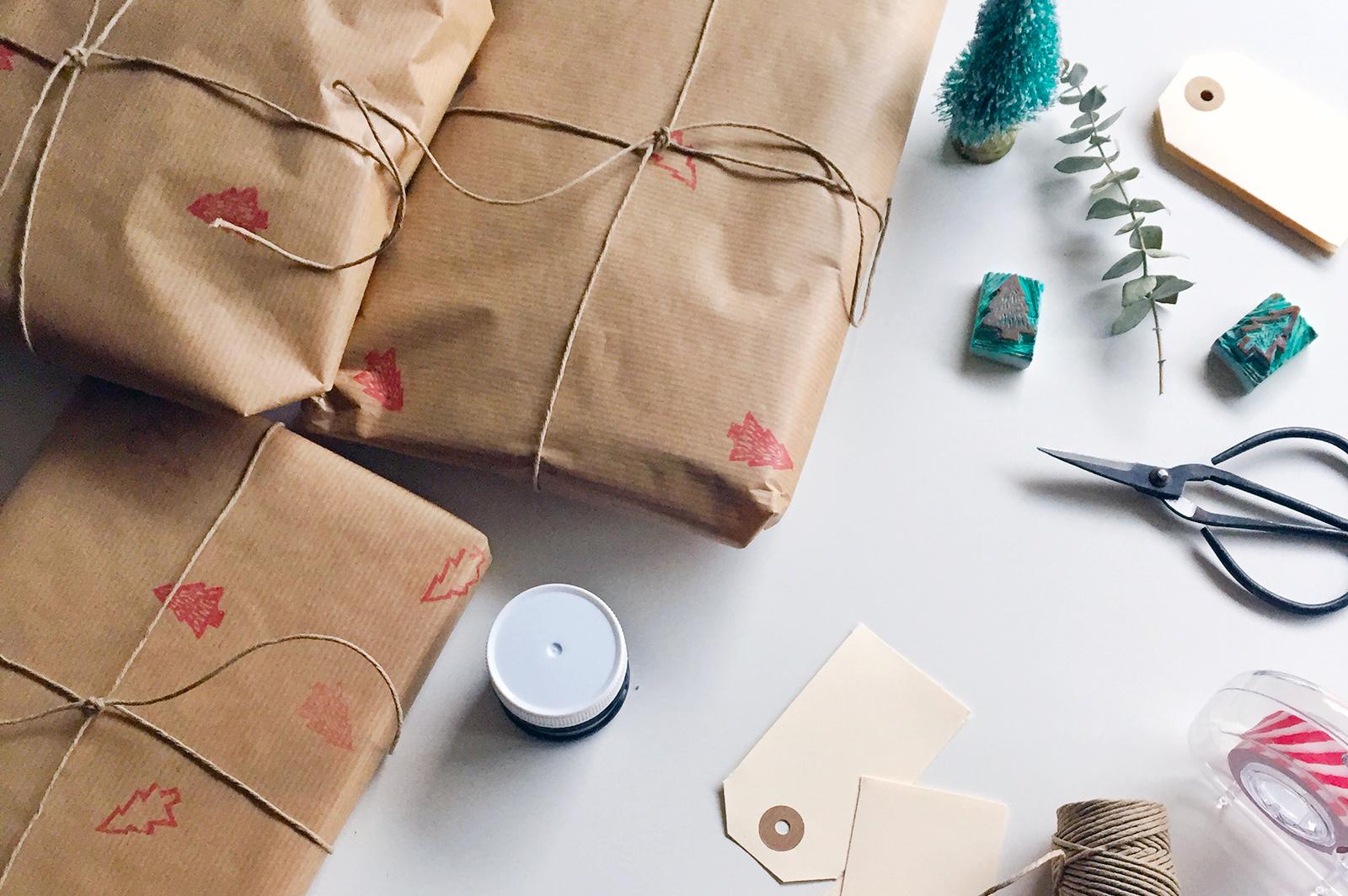 envolver regalos de forma sostenible